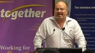 Unions vow to target Cambell Newman (Video Thumbnail)