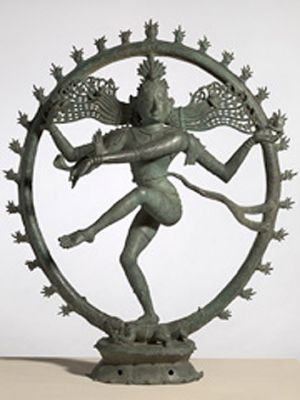 Controversy ... the sculpture <i>Shiva as Nataraja, Lord of the Dance</i>.