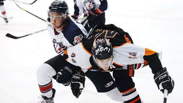 Perth Thunder are thwarting expectations in their first season in the AIHL.