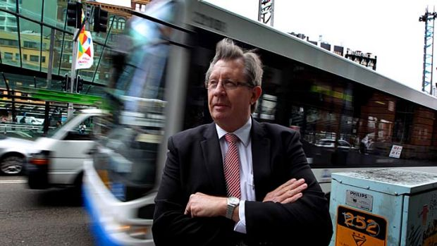 Quit ... Transport NSW Chief Les Wielinga.