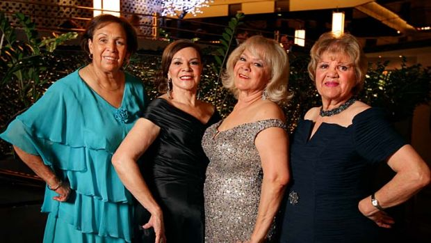 The Sapphire ladies as they are today … Naomi Mayers, from left, Lois Peeler, Laurel Robinson and Beverly Briggs ...