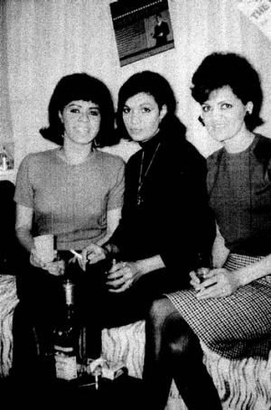 The original Sapphires ... from left, Laurel Robinson, Naomi Mayers and Beverly Briggs.