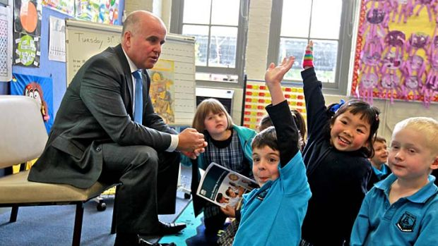 """Education Minister Adrian Piccoli ... said the government """"agrees that there ought to be an alternative provided for ..."""