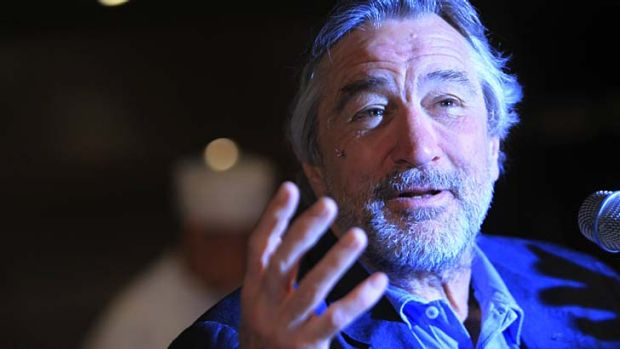 Helping put Greece back on the tourist map  ... Hollywood star  Robert de Niro.