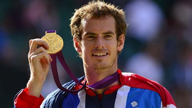 Golden boy ... Andy Murray.
