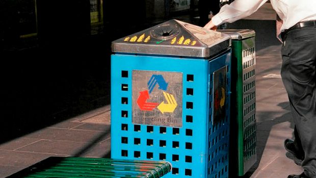 Viewed another way, asking citizens to sort out their recyclables is one form of innovative outsourcing.
