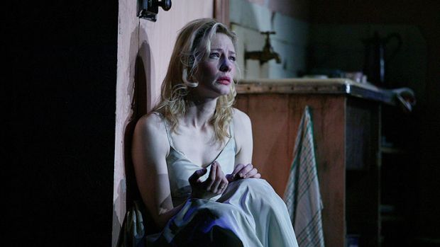 Blanchett made audiences feel her character's bravery in <i>A Streetcar Named Desire</i>.