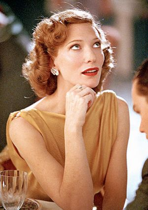 As Katharine Hepburn in <i>The Aviator</i>.