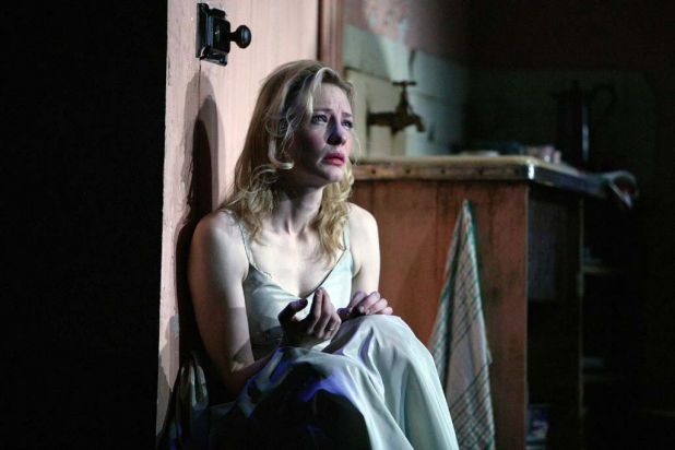 Cate Blanchett in the STC 2009 production of A Streetcar Named Desire.
