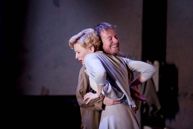 Richard Roxburgh and Cate Blanchett in Sydney Theatre Company's production of Uncle Vanya.
