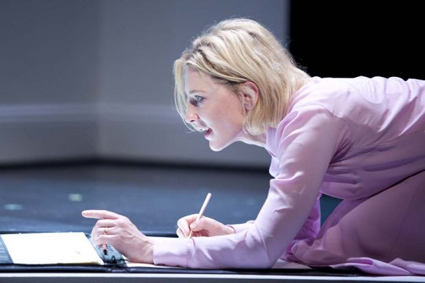 Cate Blanchett in STC's production of Gross und Klein (Big and Small) in 2011.