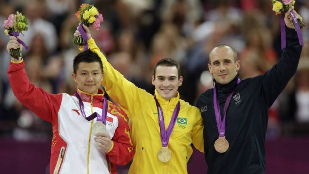 Turning point? Zanetti hopes his gold medal can inspire a new generation of gymnasts in Brazil, where football is not ...