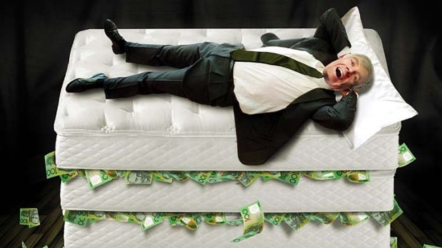 Deprivation … money under the mattress might be safe, but like fixed interest, the returns are poor. ...