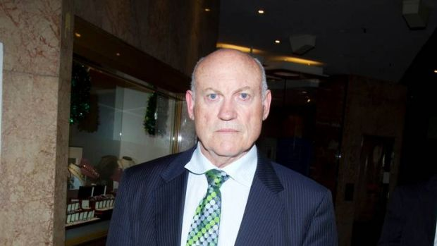 Accused of leaking information about coal licences ... former mining minister, Ian Macdonald.