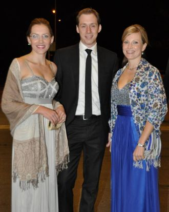 Paula and Jason Claudianos and Kendra Stanfield.