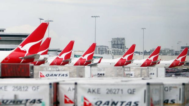 Qantas has won a victory in its long-running dispute with baggage handlers after the industrial umpire rejected their ...