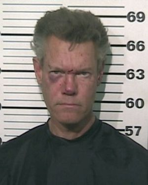 Arrested ... country star Randy Travis.
