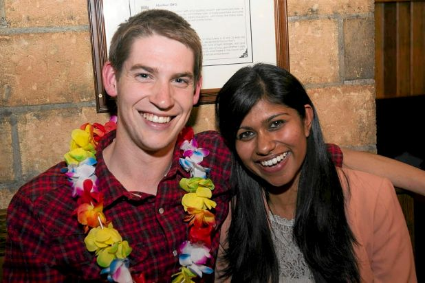 Nick Van Weerdenburg and Thaini Perera.