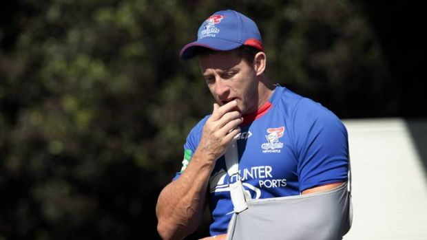 """He's keen, but he won't be playing - you can take that as a definite"" ... Knights coach Wayne Bennett on Kurt Gidley's ..."