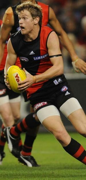 6 GAMES, RETIRED AT 21: Essendon's Darcy Daniher.