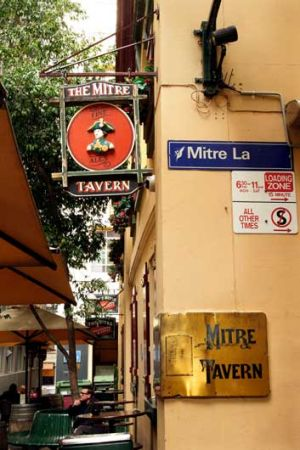 The Mitre Tavern passed in at auction.