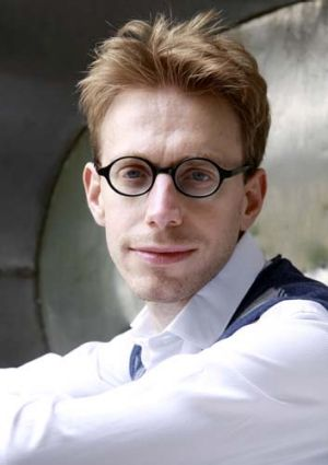 Digitally inclined … writer and savant Daniel Tammet.