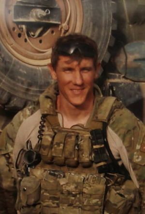 SAS soldier Jason Brown.