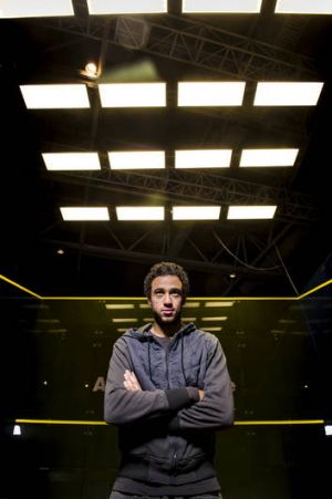 Ramy Ashour, in Canberra to defend his Australian Open squash title, wants the sport to be included at the Olympic Games ...