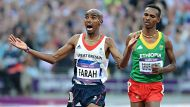 ####FOR END OF GAMES GALLERY####London Olympic Games  2012Athletics at The Olympic Stadium London , Great Britain's Mo ...