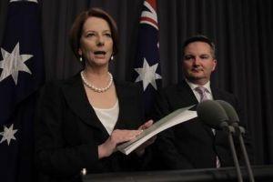Prime Minister Julia Gillard and Immigration minister Chris Bowen respond to the Expert Panel on Asylum Seekers report