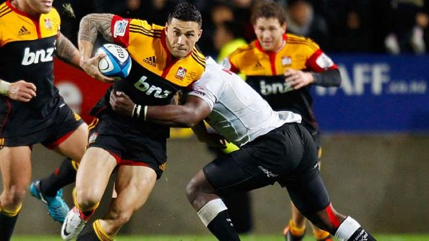 Good year … Sonny Bill Williams will line up for the All Blacks.