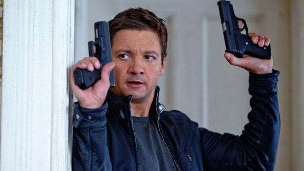 A spy by any other name ... Jeremy Renner is not Jason Bourne, but is stony, tough and resourceful.