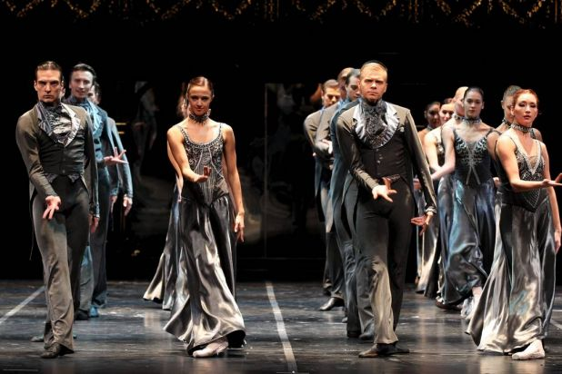 Eifman Ballet's press call for their ballet, Anna Karenina, at Capital Theatre, Sydney.