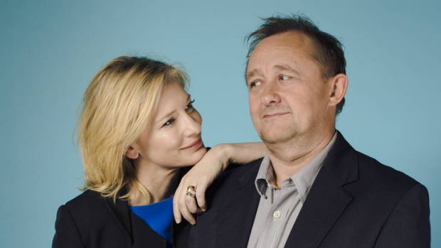 Over to you ... Cate Blanchett and Andrew Upton