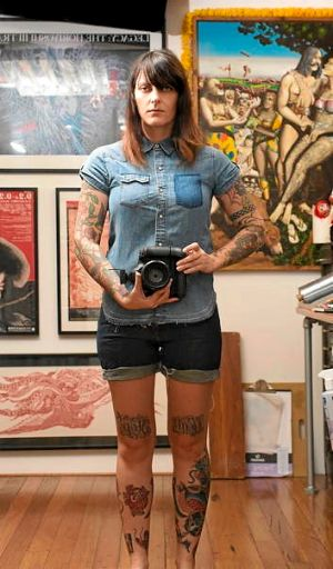 Photographer Nicole Reed, who has been documenting tattoos for years.