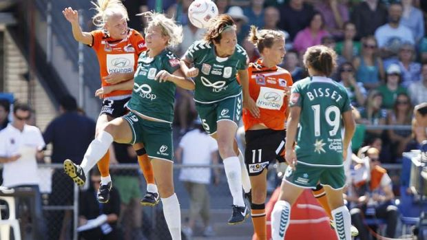 No longer shown live ... ABC TV have scrapped live TV coverage of the W-League.