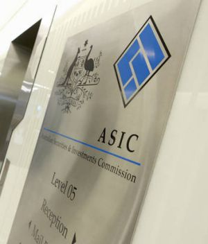 ASIC did not appear aware that Hickie late last month was granted a new financial services representative's licence.