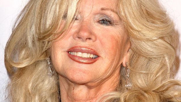 Soft lines suit older women ... Connie Stevens, 78, maintains her crowning glory.