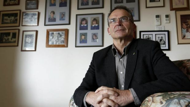 Former ACT Chief Minister Jon Stanhope at home in Bruce, he has been appointed the new administrator of Christmas and ...