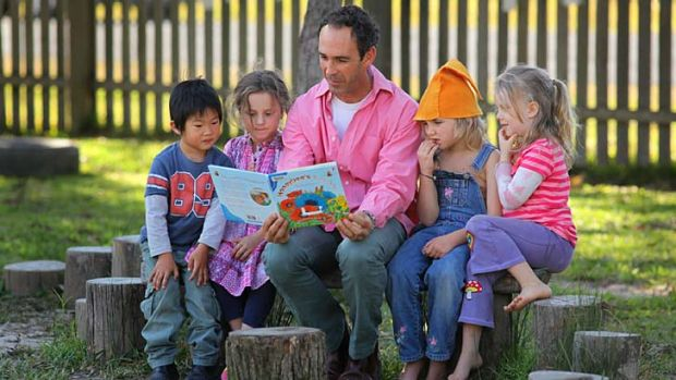 Battling stereotypes … preschool worker Craig d'Arcy has set up the Males in Early Childhood Network Group.