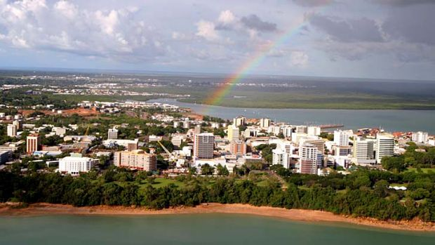 A picture to behold ... lying under azure skies and bathed in warm 30-degree temperatures, Darwin serves an ideal ...
