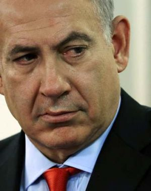 Stuck … Benjamin Netanyahu is talking tough but has little support for an attack on Iran.