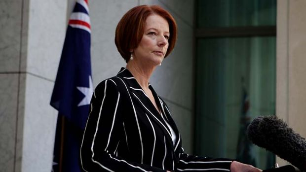"""Right now Australia risks slipping behind"" ... Prime Minister Julia Gillard."
