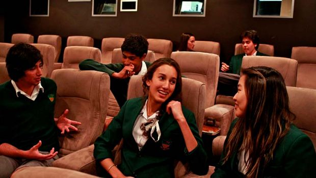 ''It was just scary because of how the adults reacted'' ... pupils from Caringbah High School who previewed the documentary.