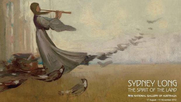 Sydney Long, The Spirit of the Land will be shown at the National Gallery of Australia.