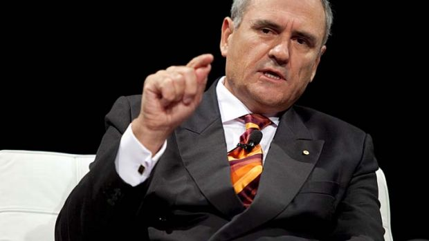 Ken Henry … Australians complacent about the need to learn another language.