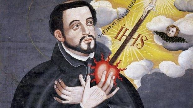 A painting of St Francis Xavier, held in the Kobe City Museum. (from website http://en.wikipedia.org/wiki/Francis_Xavier