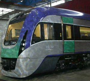 The first of the carriages is due to roll out of Bombardier's Dandenong factory in 2014.