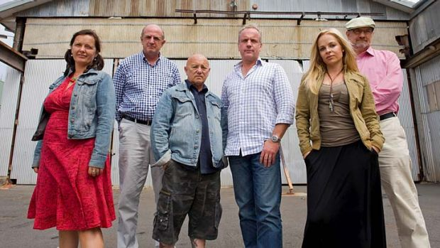 The cast of <i>Go Back To Where You Came From</i>.