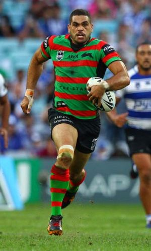 Show him the money ... South Sydney fullback Greg Inglis could be No.1, in more ways than one.